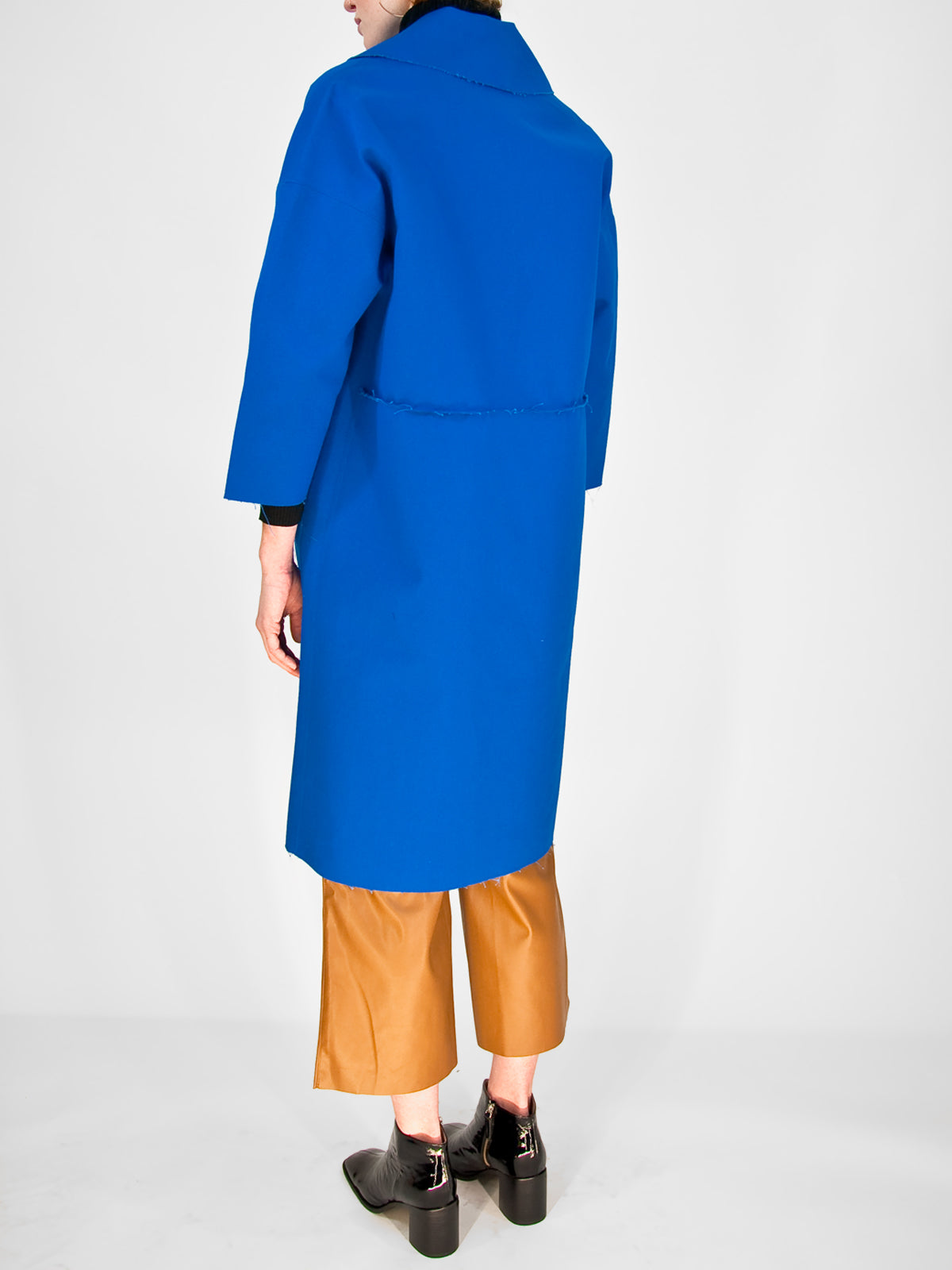 Beth - Cabin Coat / Bluebird Canvas