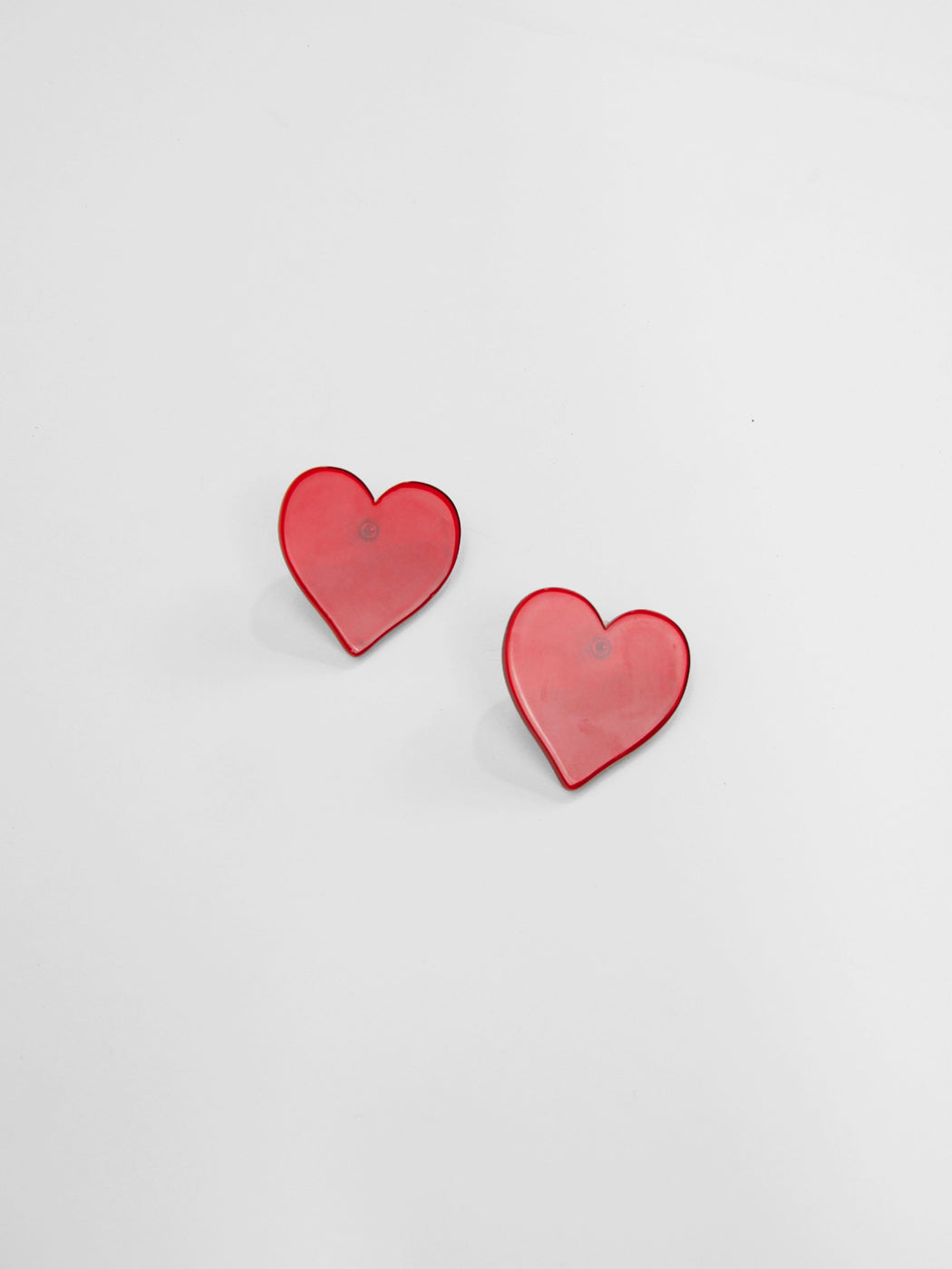 Big Love Earrings / Red