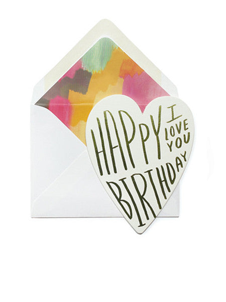 Moglea - Birthday Love Card