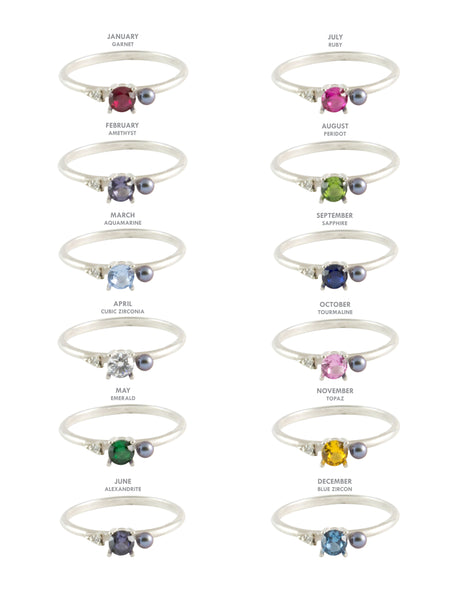 Birthstone Ring / Assorted