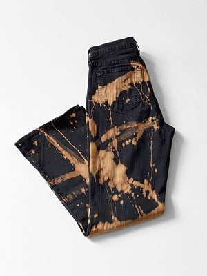 IGWT Vintage - Bleach Dyed Jeans / Black