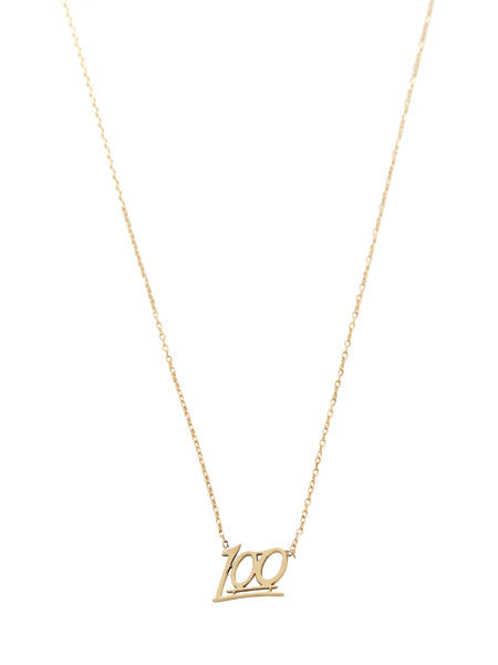 100 Necklace / Gold