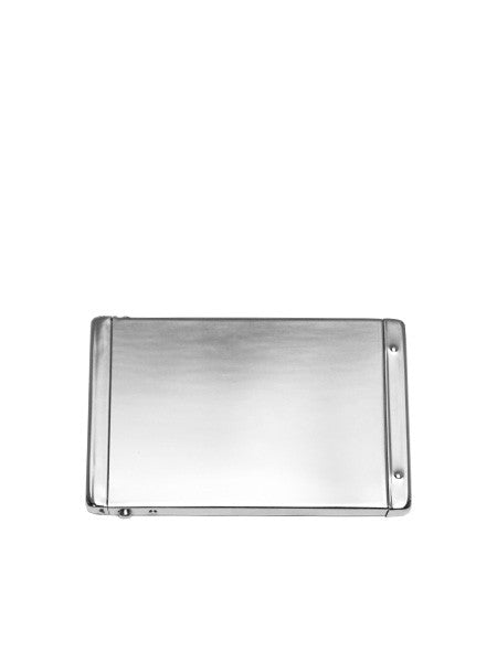 IGWT - Flip Top Card Case / Silver