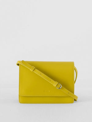 BAGGU - Small Structured Crossbody / Citron