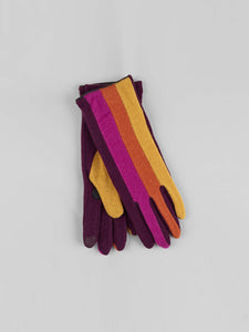 Echo - Colorblock Glove / Pickled Beet