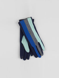 Echo - Colorblock Glove / Navy