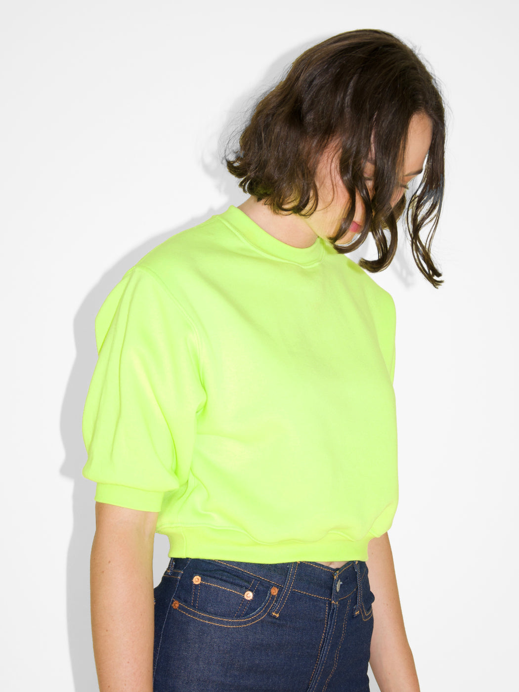 Combs Sweatshirt / Day Glo