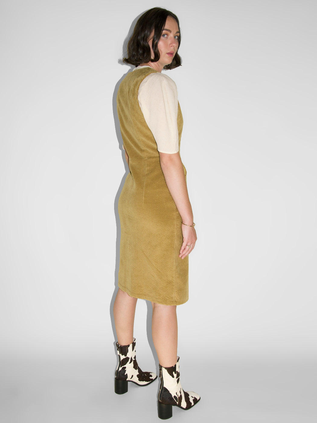 Eve Gravel - Delirium Dress / Sepia