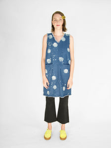 Irene Daye - Cyd Dress / Spotted Denim
