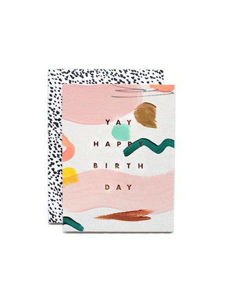 Moglea - Yay Birthday Card