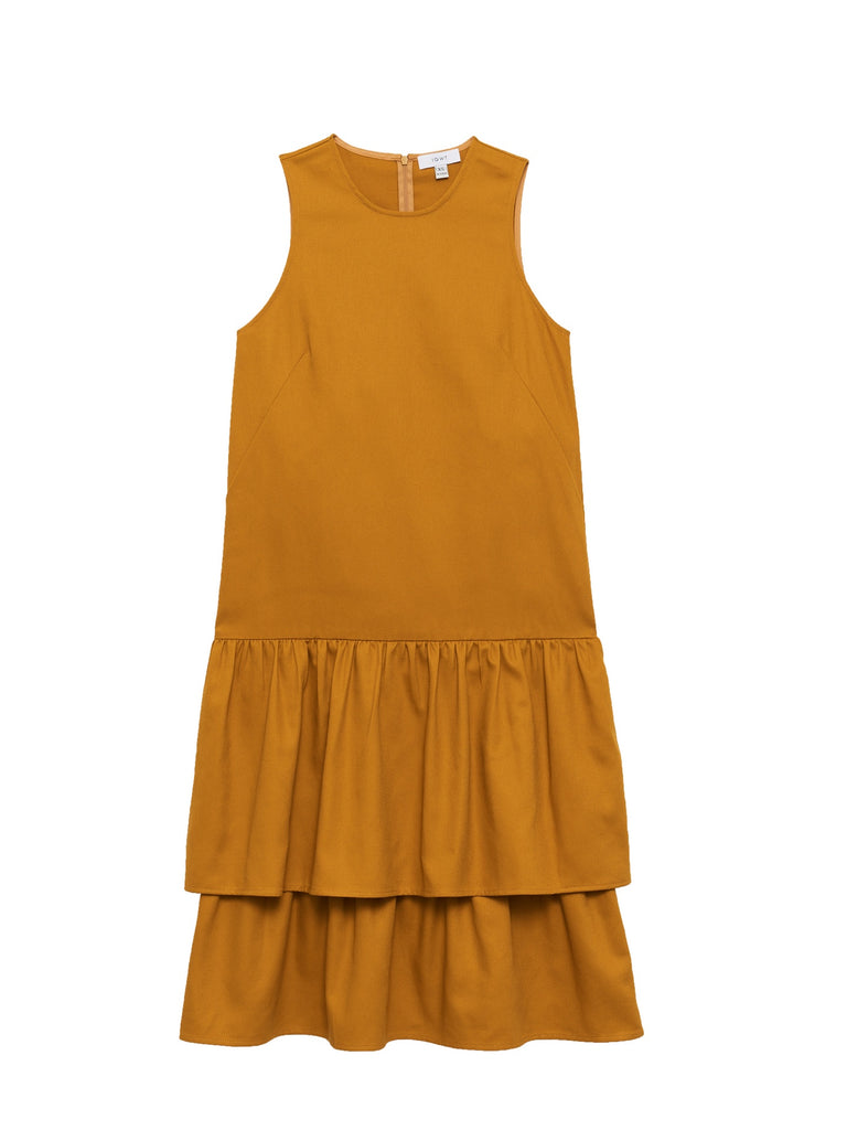Wendy Dress / Yellow Twill