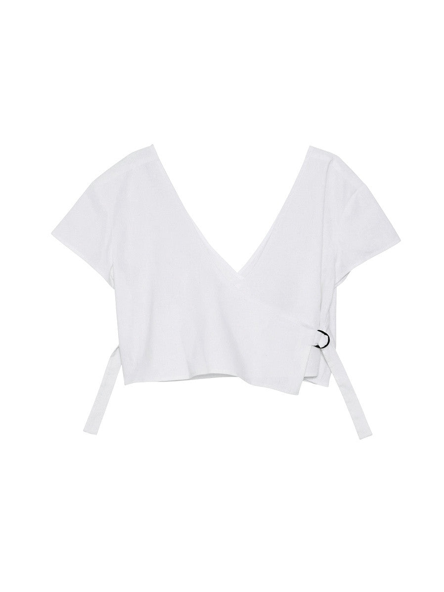 Holly Shirt / White Linen