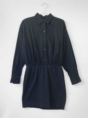 IGWT Vintage - DKNY Button Down Dress / Black