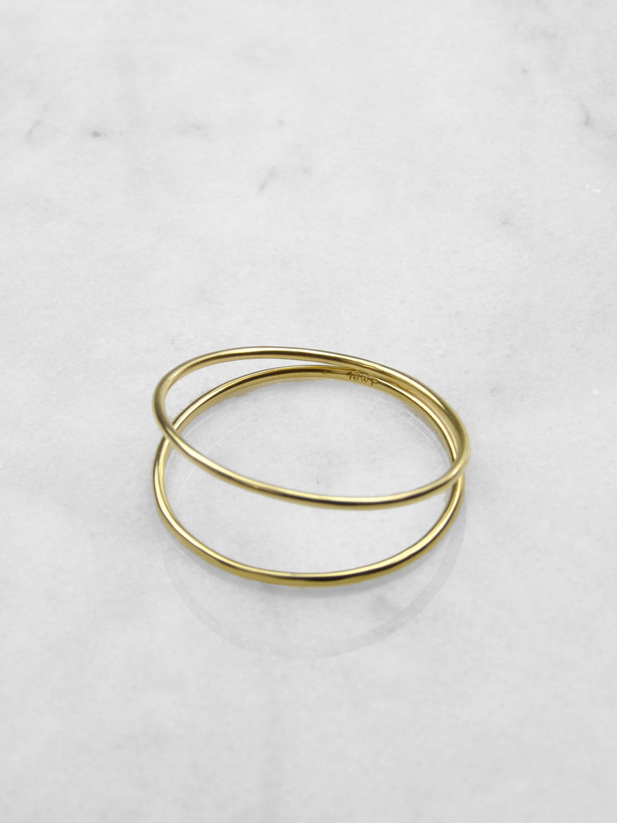 Drift Bangle / Brass