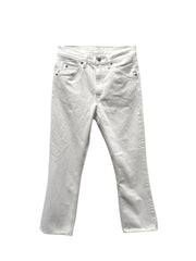 Levi's - 517 Cropped Boot Cut / White Denim