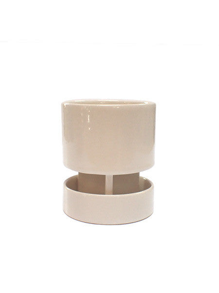 Light + Ladder - Achromo Planter / White