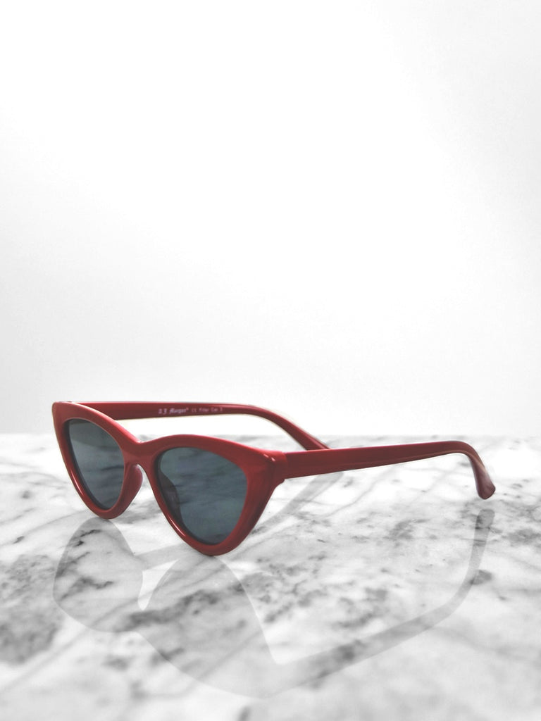 Sunglasses - Naughty / Red