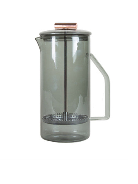 Yield - 850mL Glass French Press / Grey