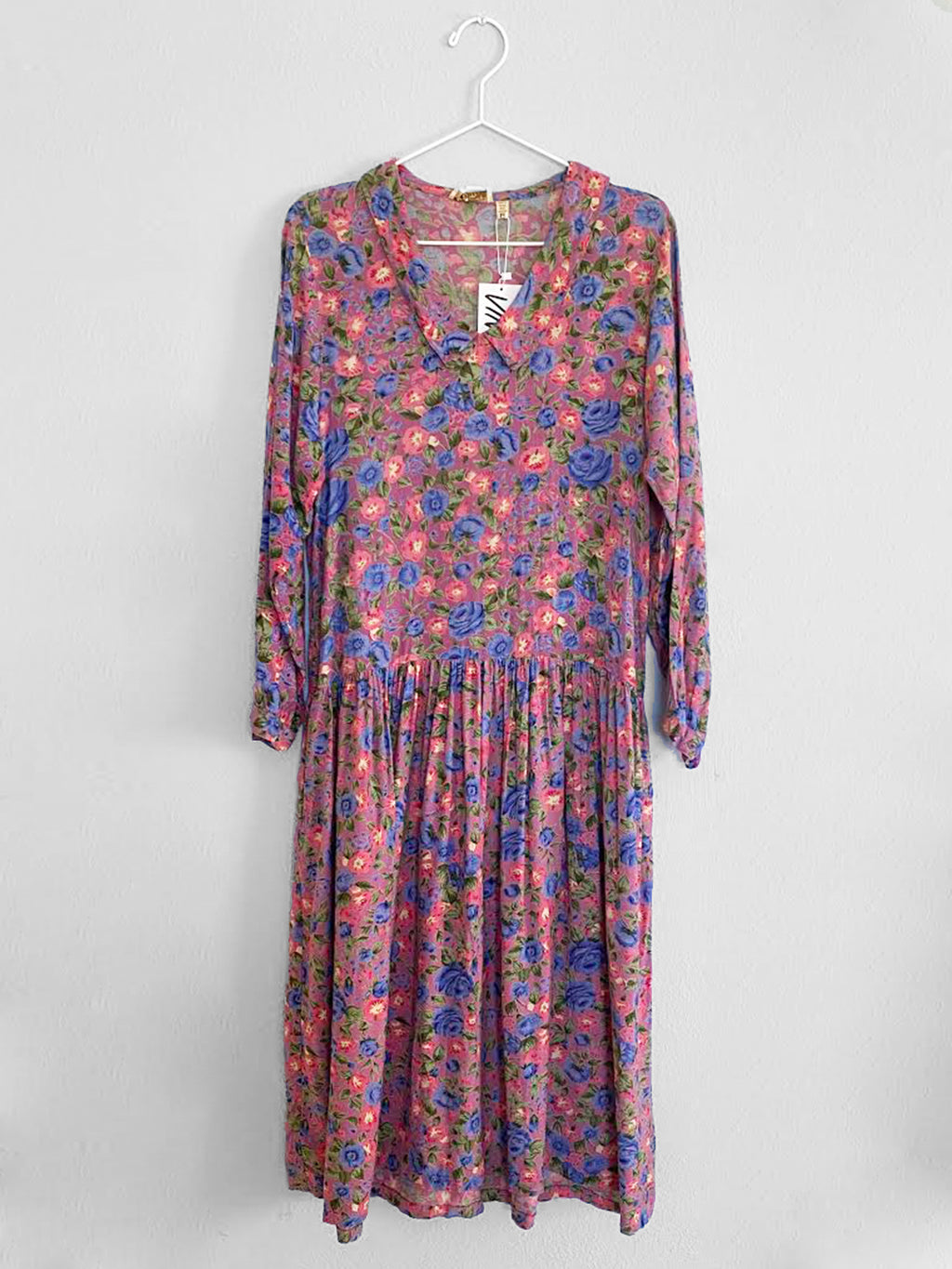 IGWT Vintage - Collared Dress / Floral