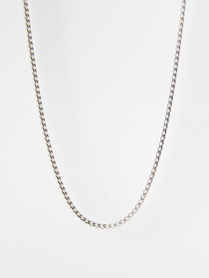 Franco Chain Necklace / Sterling Silver