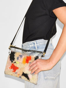 Primecut - Vinyl Zipper Crossbody / Fruit Salad