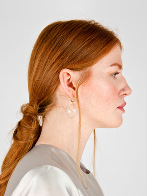 Gaffer Hoop Earrings
