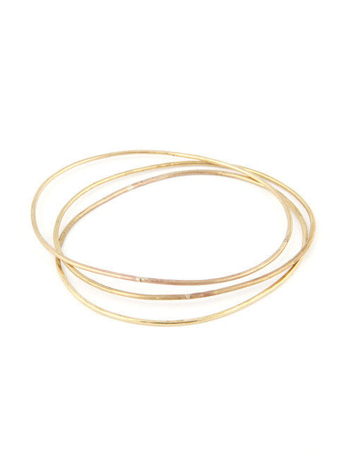 Bangle Set / Brass