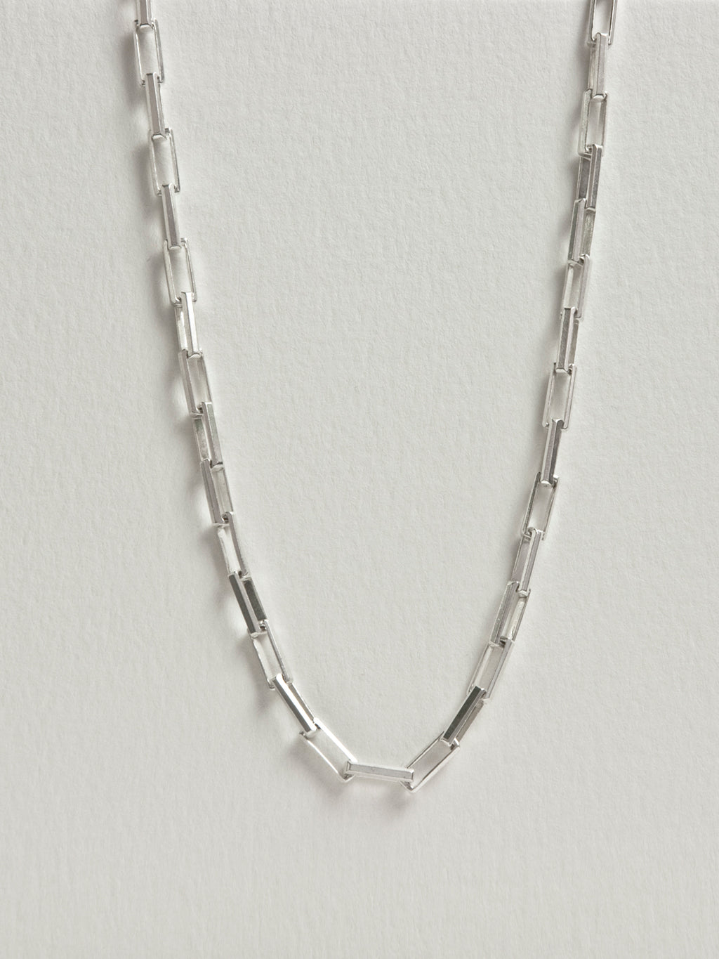 "Heath Chain / 20 - 24"" / Sterling Silver"