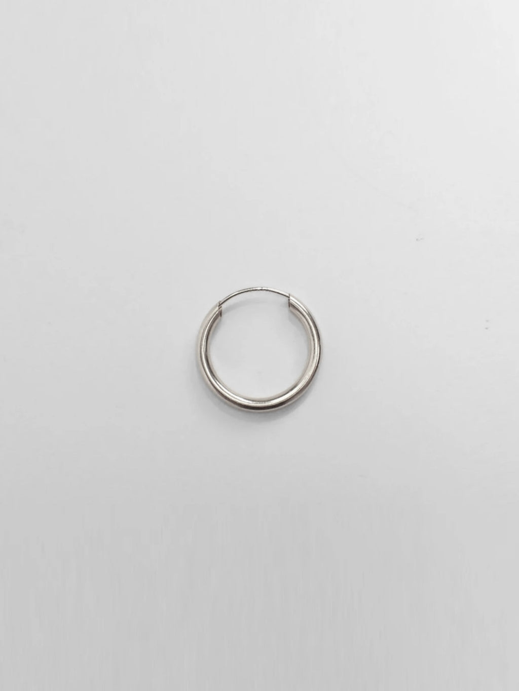 Endless Hoop 10mm / Sterling Silver