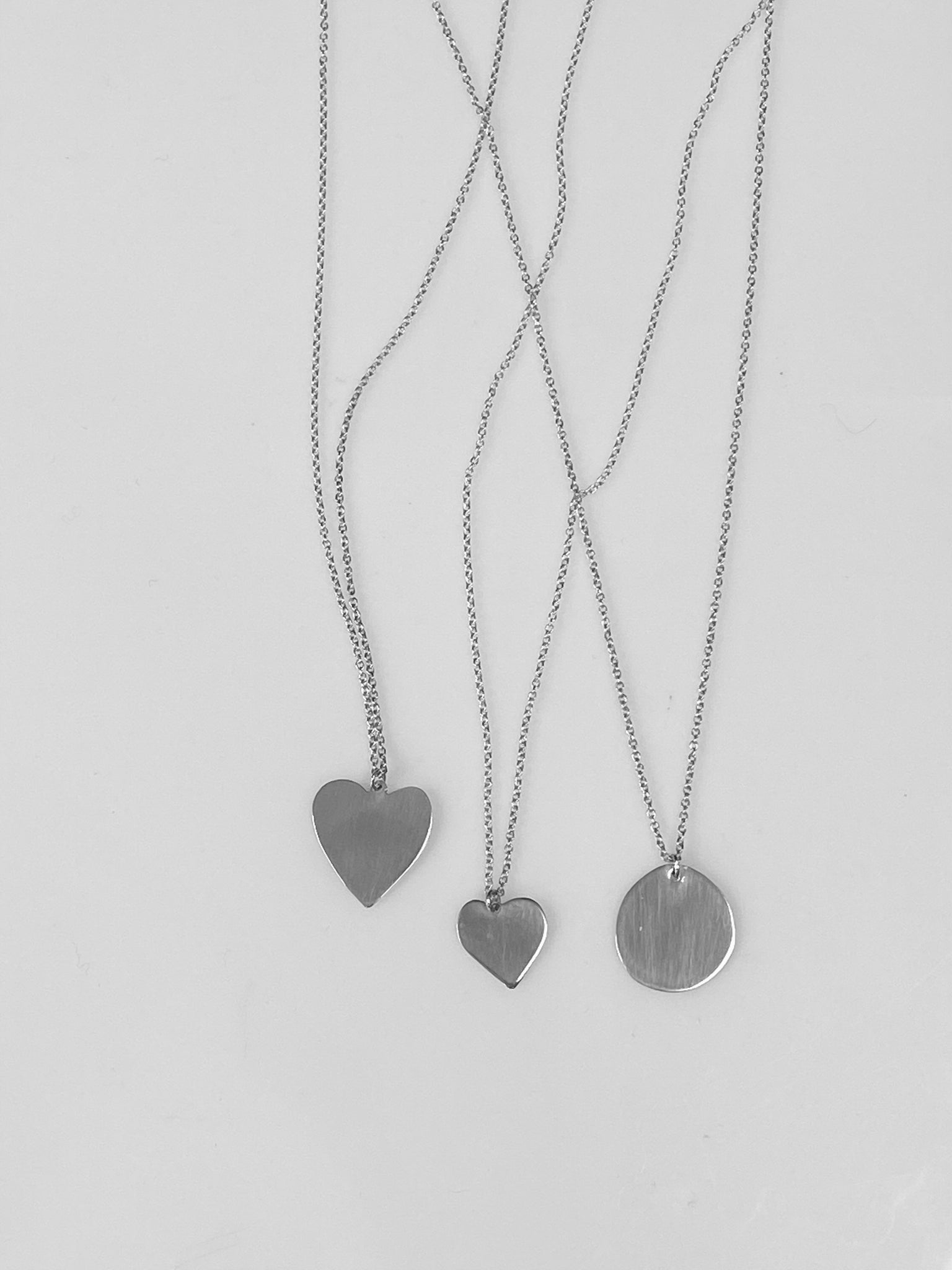 Sweet Nothing Necklace / Sterling Silver
