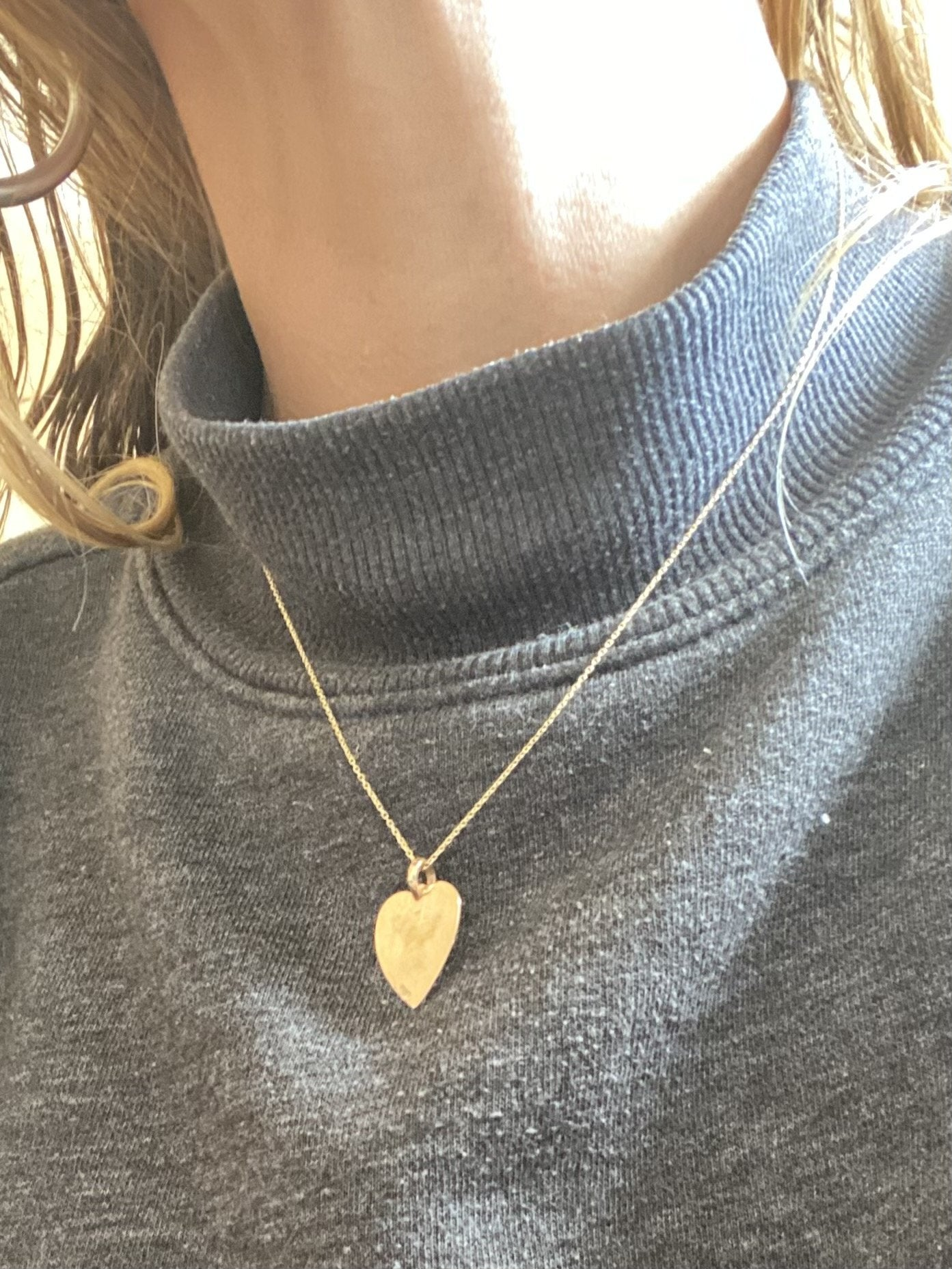 Sweet Nothing Heart Pendant