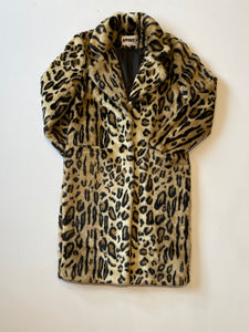 Apparis - Charlie Faux Fur Coat / Leopard