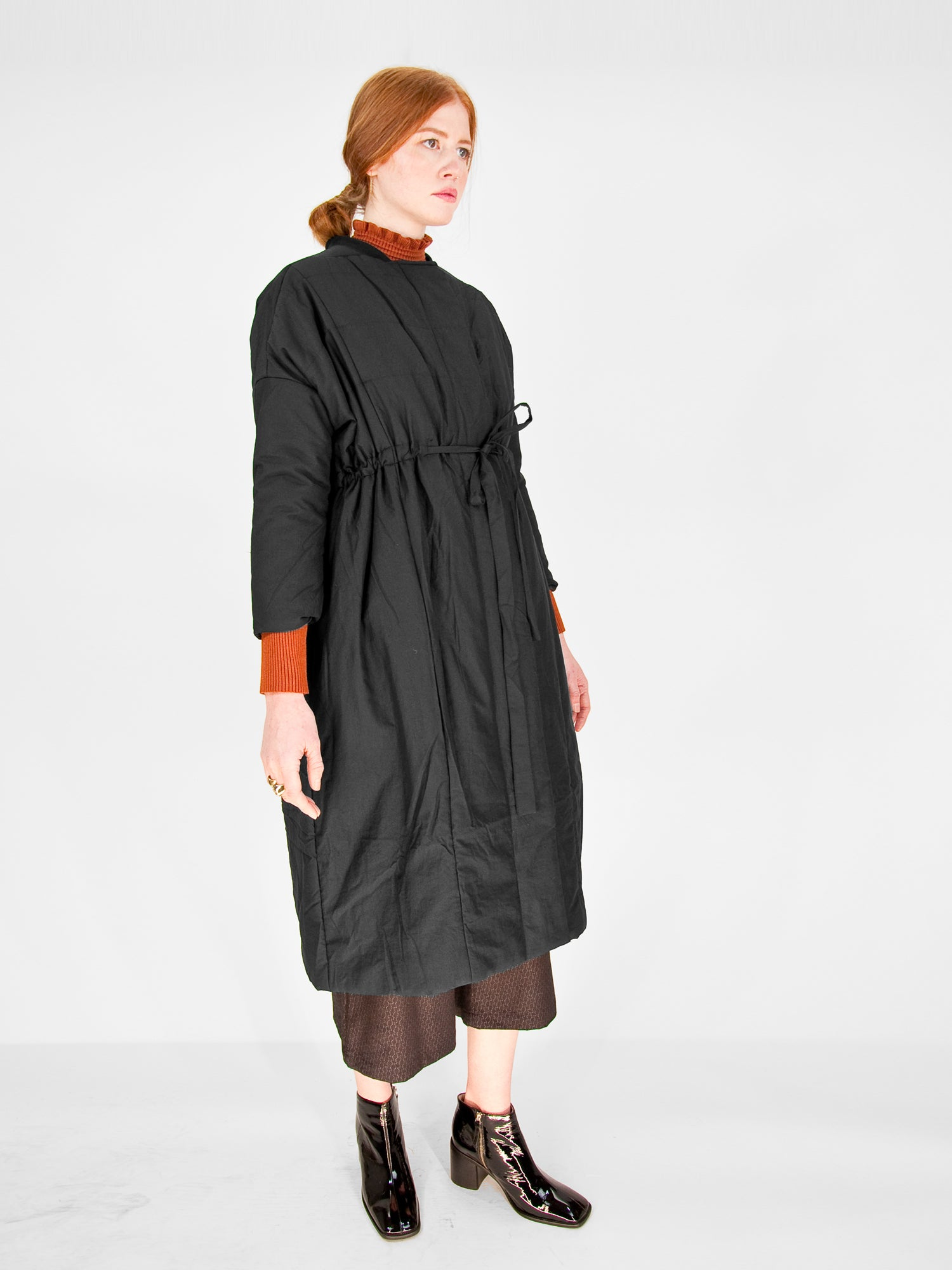 Intentionally Blank - DASH Car Coat / Black