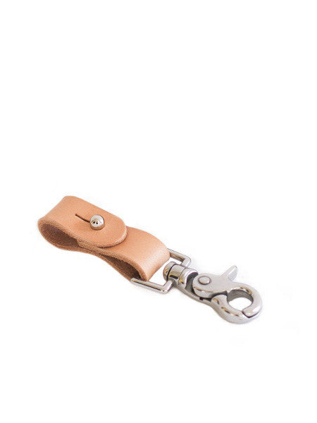 Jay Teske Leather - Key Fob / Natural