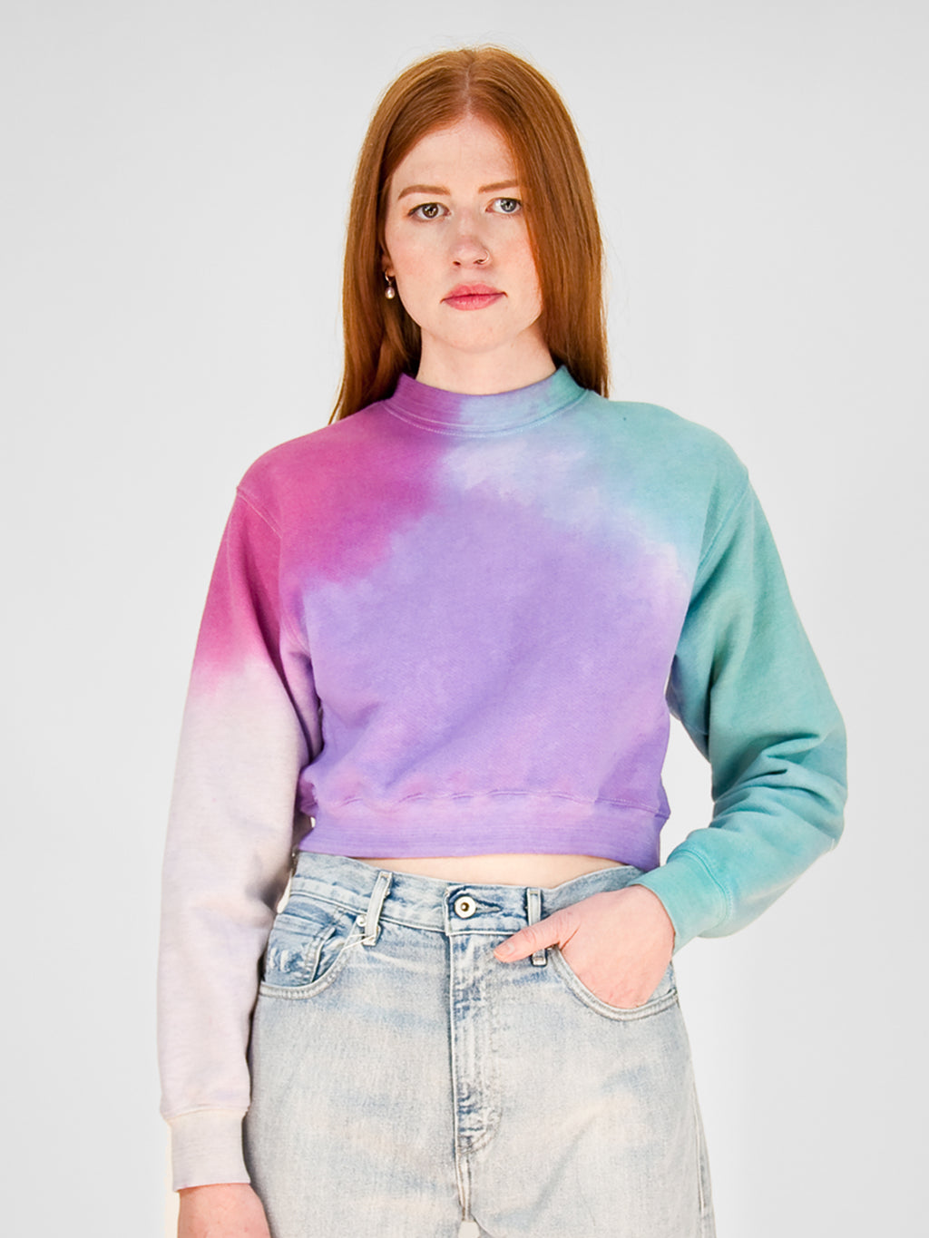 Joni Cropped Sweatshirt / Party
