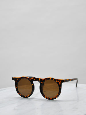 Sunglasses - Key Hole / Tortoise