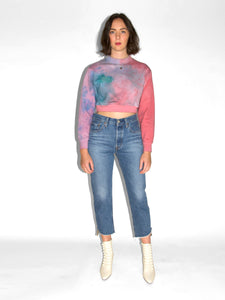 Levi's - 501 Crop / Call Me Crazy