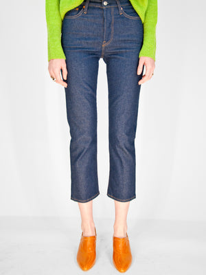 Levi's - Wedgie Straight Ankle / No Man's Land
