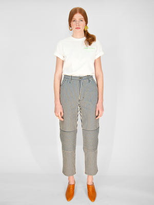 Lykke Wullf - Muir Workwear Jean / Stripe Denim