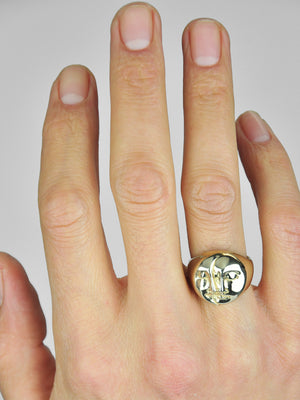 Mare Ring / Brass