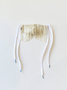 Beth - Boyne Mask / Natural Fringe