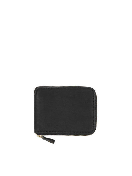 Minor History - Coupe Zip Wallet / Oiled Black