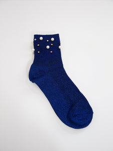 Pearl Socks / Electric Indigo