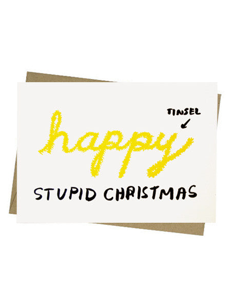 People I've Loved - Stupid Christmas Card