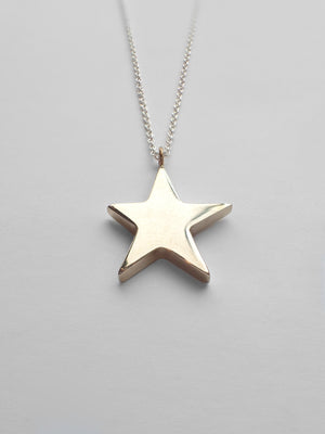 Perseid Necklace / Brass & Silver