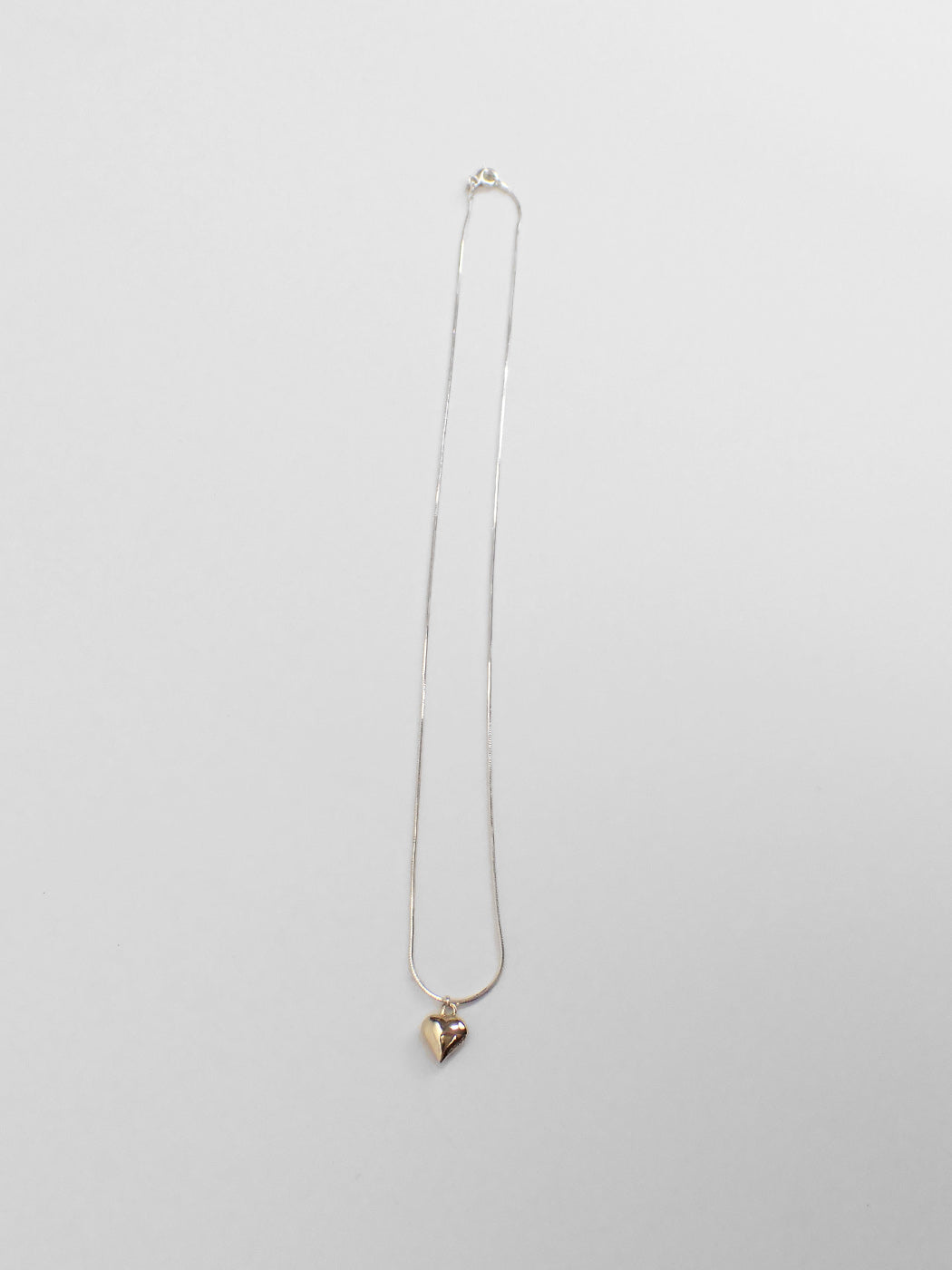Petit Paige Necklace / Silver & Brass