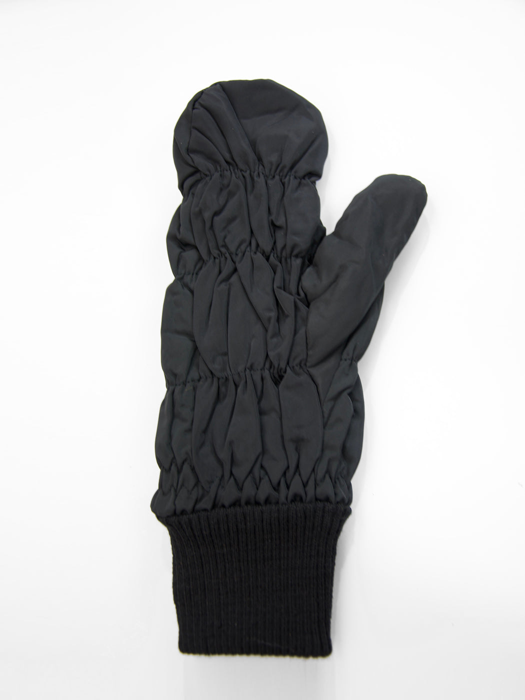 Quilted Puffer Glove / Black