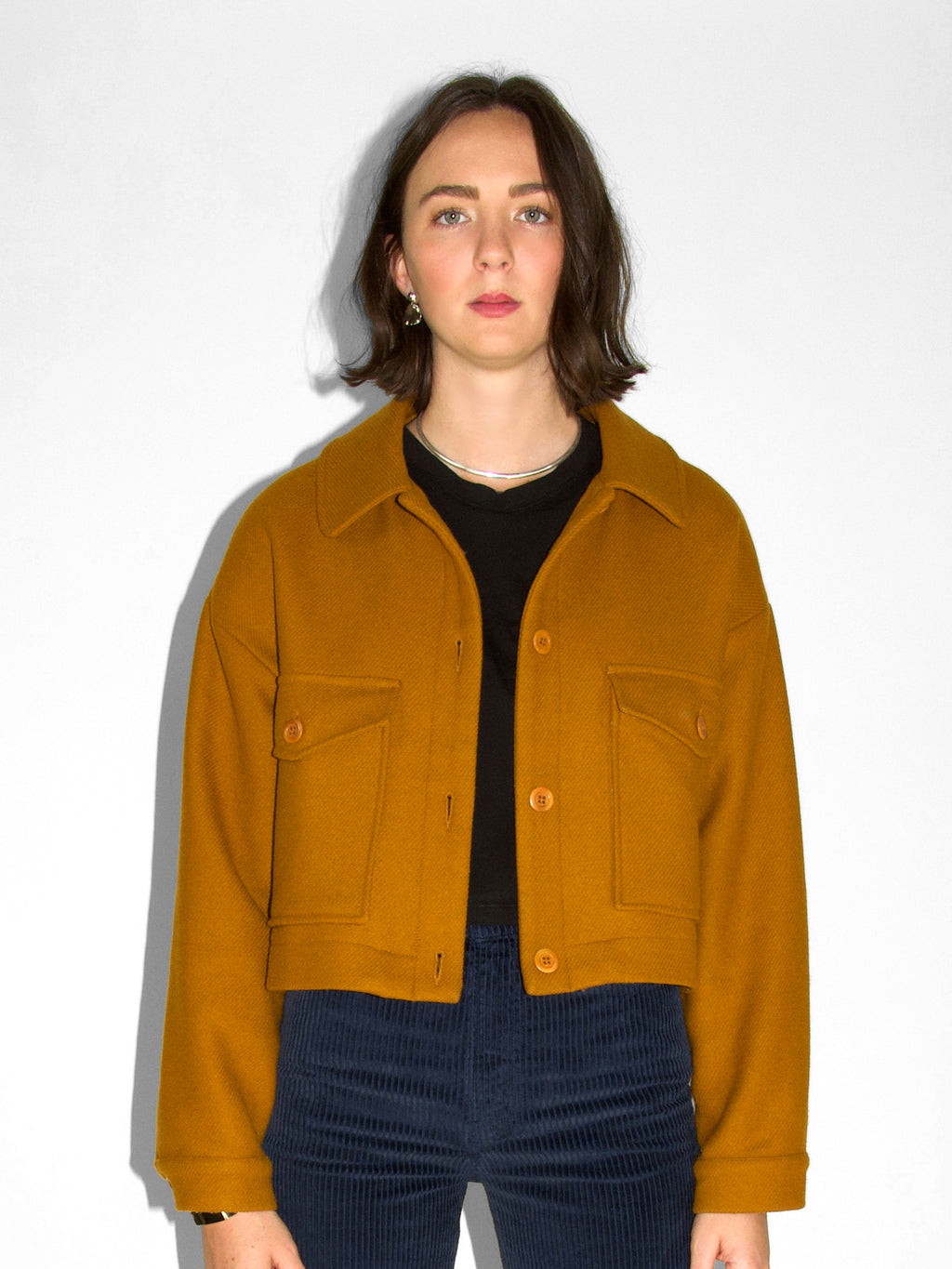 Rita Row - Jacket / Ochre