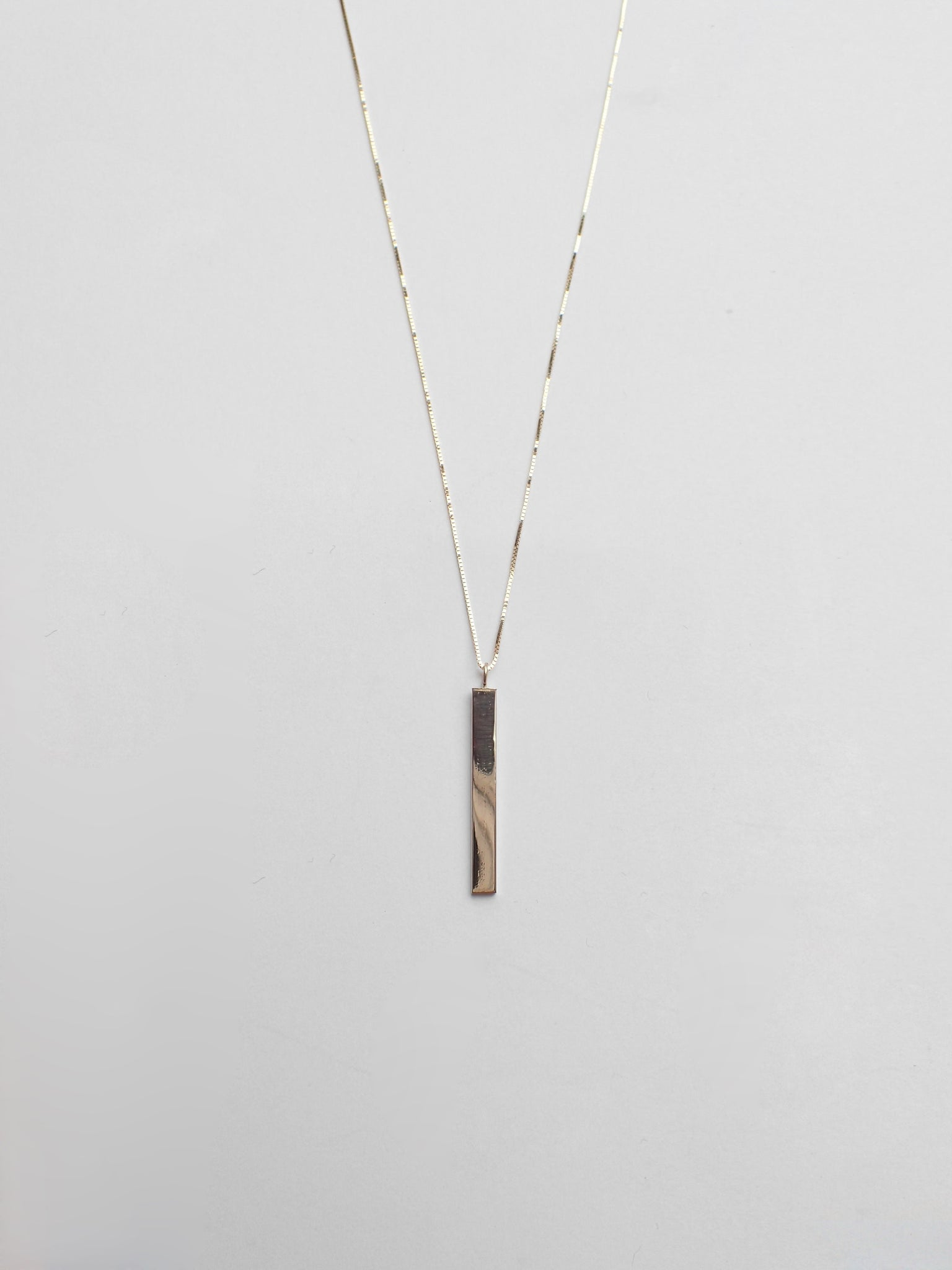 Scottie Necklace / 14Kt Yellow gold
