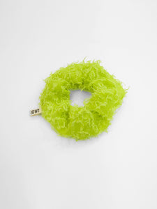 IGWT - Scrunchie / Green Eyelash Organza